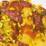 salsiccia pezzente stagionata con patate macelleria e salumi d andrea